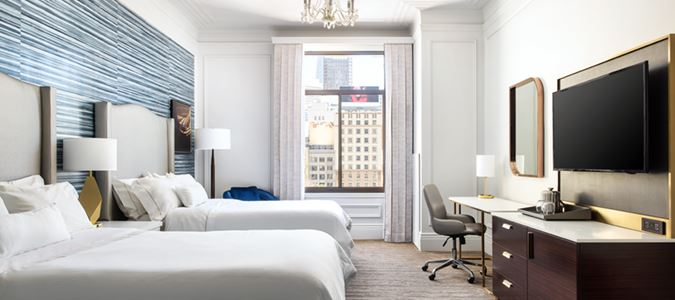 Grand Deluxe Double Union Square View Guestroom