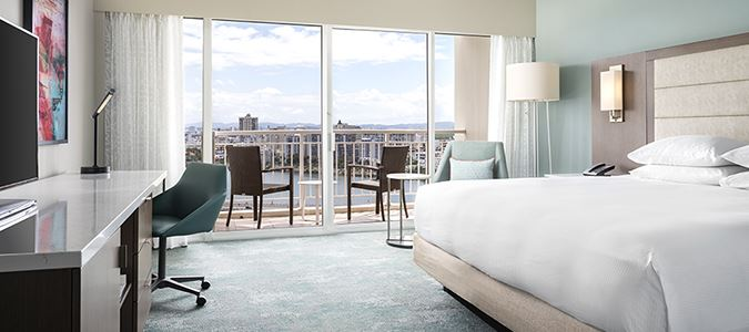 Wave Wing City View Guestroom