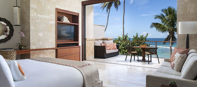 West Beach Ocean Reserve Oceanfront Luxury King Guestroom with Balcony