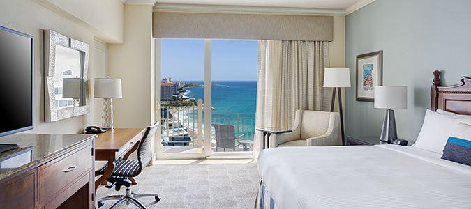 Oceanview King, Main Tower Guestroom