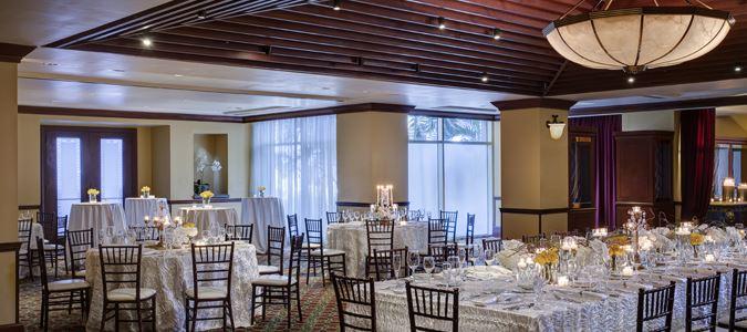 Tuscany Room Wedding Reception