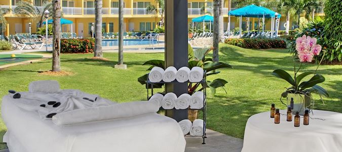 Poolside Spa Treatments