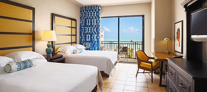 Oceanview Two Queen Guestroom