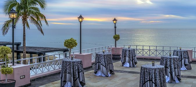 Oceanview Wedding Reception