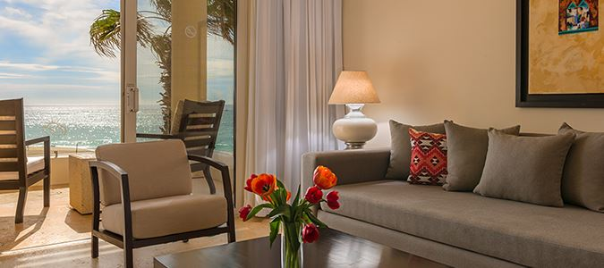Oceanfront Suites with Butler Service