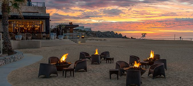 Beach and Fire Pits