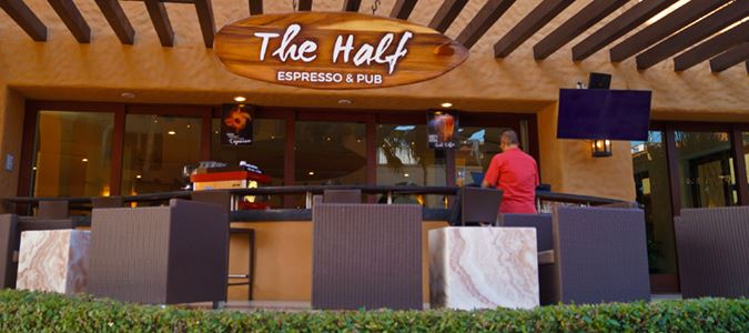 The Half Espresso and Pub