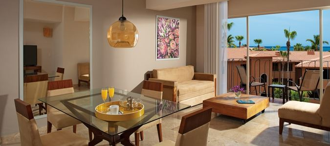 One Bedroom Suite Garden View Living Area