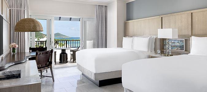 Oceanview Double Queen Guestroom