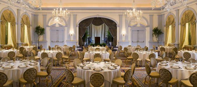 Grand Ballroom Wedding Receptions