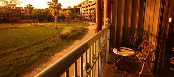 Guestroom Balcony View of the Savanna