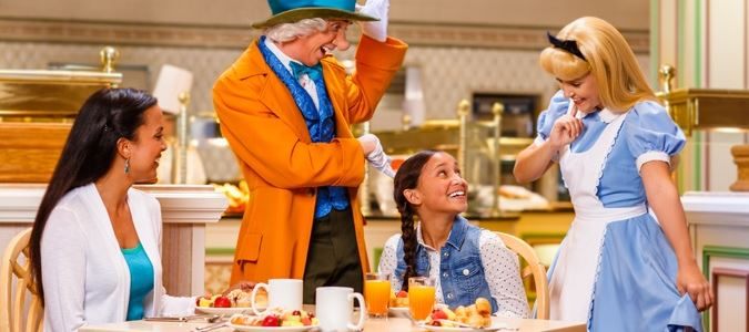 Character Breakfast at 1900 Park Fare Restaurant