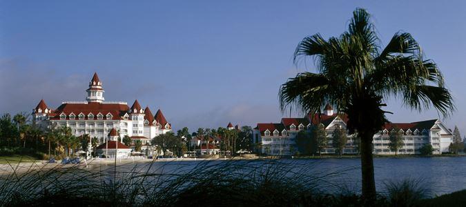 Exterior and Seven Seas Lagoon
