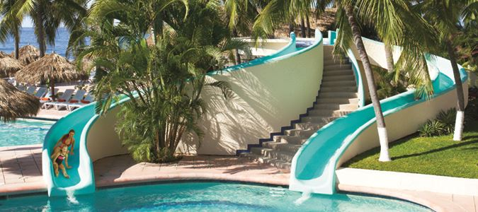 Pool Waterslides