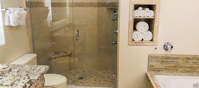 Creekside Villa Master Bathroom
