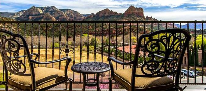Private Balcony Red Rock View