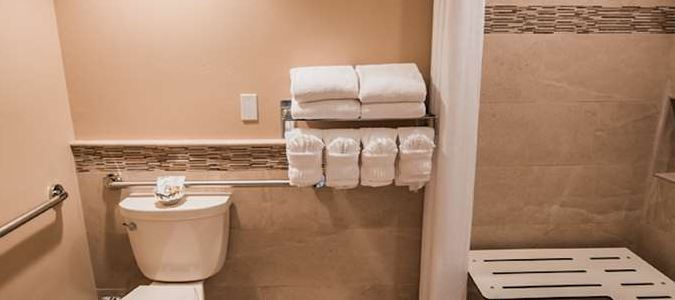 Mobility Accessible Queen Guest Bath