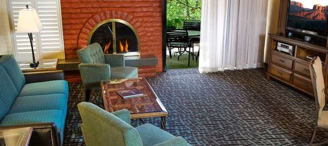 Creekside Villa Living Room