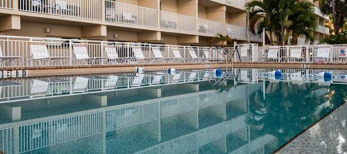 Heated Beach Side Pool