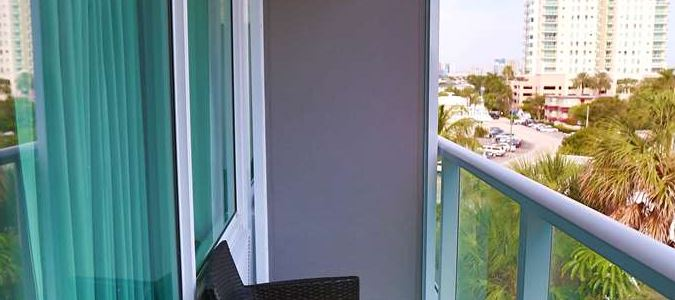 Guest Room Balcony - City View
