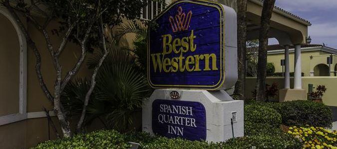BEST WESTERN Spanish Quarters Inn