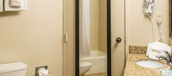 One Two Bedroom Suite Bathroom