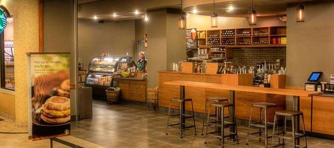 Lobby Starbucks®
