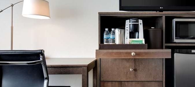 Refrigerator, Microwave, Keurig Coffee Maker - Standard in all rooms