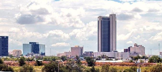Amarillo Downtown Skyline