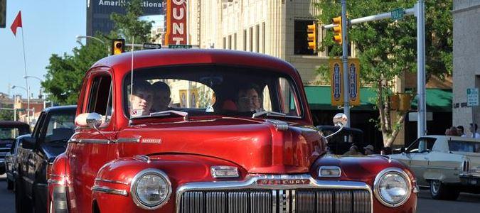 Classic Cars on Polk St.