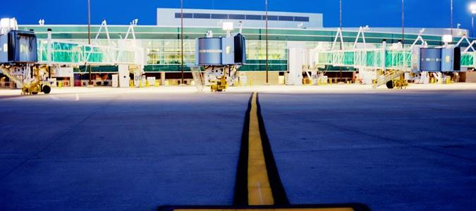 New Airport Evening