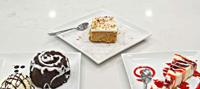 Delectable Desserts in the Bistro