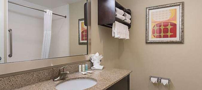 Bathroom in gues room