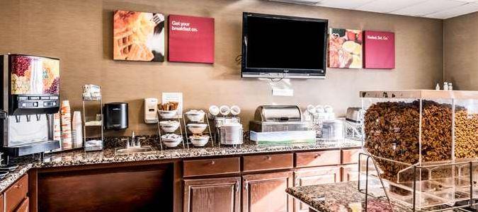 Spacious Breakfast Area