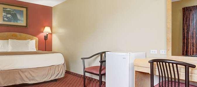 Standard King Guest Room Efficiency