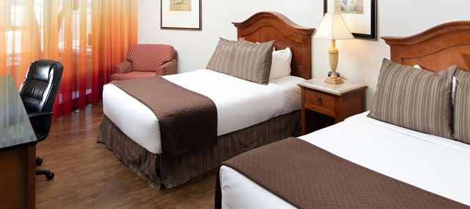 Boise Hotel Double Queen Room