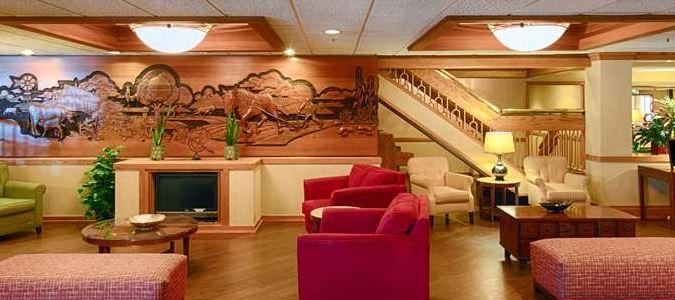 Boise Hotel Lobby