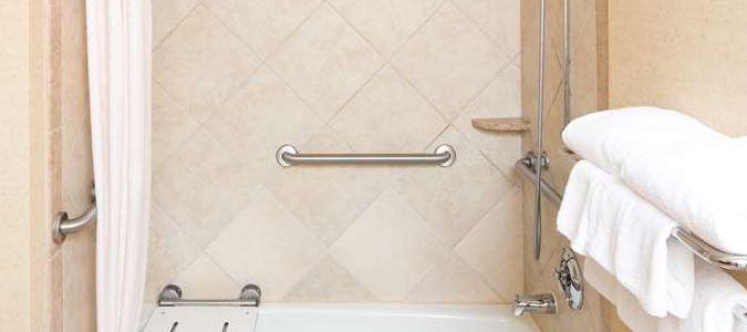 Boise Hotel Bathroom ADA