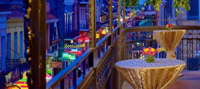 Social Event Bourbon Balcony Hospitality Suite