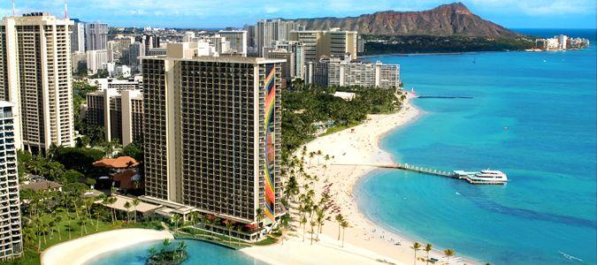 Hilton Hawaiian Village Waikiki Beach Hawaii Oahu